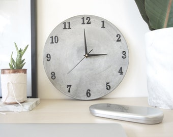 Clock numbers for concrete clock (choose this listing for numbers on your clock)