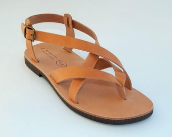 Men's Leather Sandals (43,44,45,46  Natural leather)