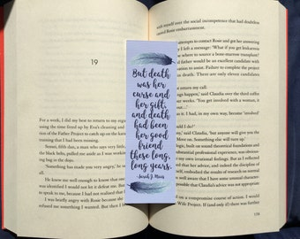 But Death Had Been Her Friend Bookmark
