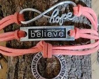 Leukemia Awareness Bracelet