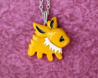 Jolteon Eeveelution Necklace
