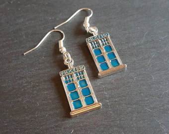 Doctor Who, Tardis Earrings