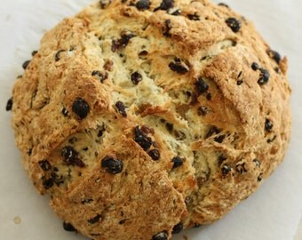 Irish Soda Bread St Patrick's Day to make your meal complete. Great for Gift Giving! Handmade Perfect Gift Moist Authentic and Delicious