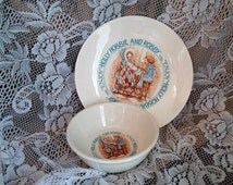 Holly Hobbie Plate and Bowl Set