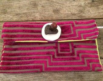 Pochette de tissus créateurs avec céramique (12)