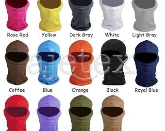 Motorbike Motorcycle Thermal Balaclava Ski Face Mask Under Helmet Neck Warmer 14 Colors to choose V-SP0024