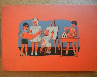 Childcraft Art and Music ~ 1947 ~ Oversize Hardback ~ Volume 13