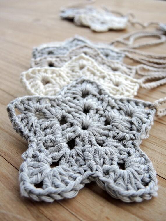 Guirnalda Estrellas Crochet Guirnalda Habitaci N Beb