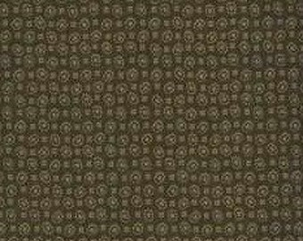 AE Nathan Co. Quilting Cotton Fabric Brown 129806