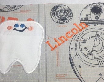 BB8 Tooth Fairy Pocket Pillow