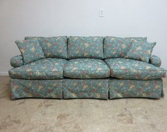 Henredon Tufted Sofa Couch Settee Loveseat