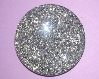 Silver Pressed Glitter Eyeshadow