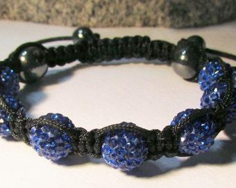 Sapphire Shamballa Bracelet