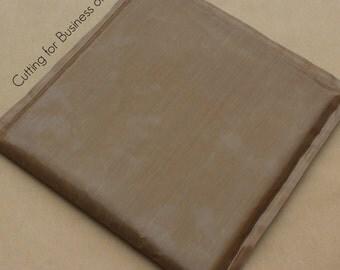 Teflon Pillow for heat press, 15 x 15, Adult size, Use with heat transfer vinyl - HTV - rhinestones