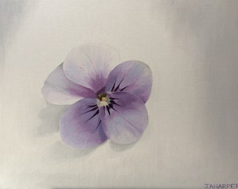 Lilac - original oil painting 16x12