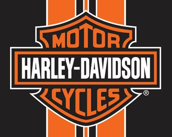 Harley Davidson Classic Stripe Beach Towel For 2