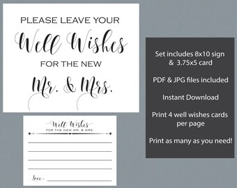 well wishes for the bride groom set wedding wishes well wishes sign