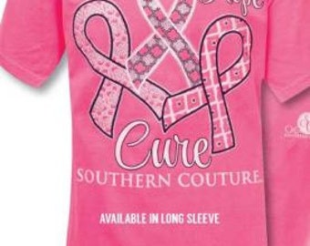 Southern Couture Hope Faith Cure tee shirt NEW