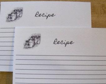 Recipe Cards/ Grocery Recipe Card