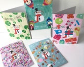 Christmas card pack. 10 funny, Christmas greetings cards for friends, family and work colleagues. Ready to ship