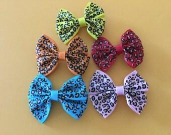 5 New Mini Hair Bows