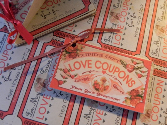 Valentine Love Coupons