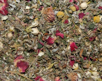 INNER GODDESS Women's Herbal Balancing Tea and Tonic with bonuses. An all- organic Herbal Blend to support all cycles of a woman's life.