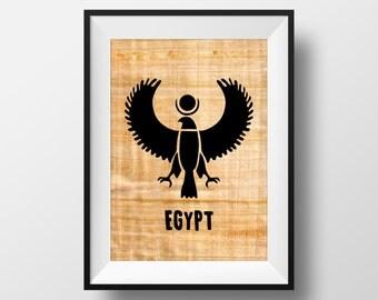 The Egyptian eagle