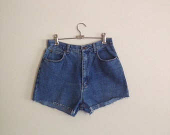 vtg high waisted denim shorts