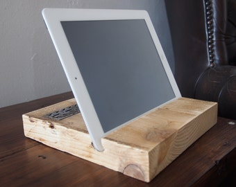 Reclaimed Scaffolding Board iPad/Tablet Stand