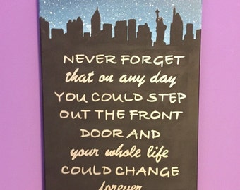 How I Met Your Mother Inspired Canvas