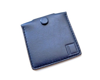 Horween Coin Pouch Case (Navy)