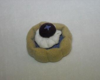 Plush Blueberry Tart