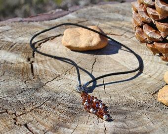 Topaz Crystal Necklace
