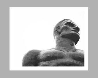 Spartan Statue // Michigan State University Spartans // Michigan Art // Sparty