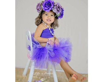 Tutu set . Tutu and flower crown set . Flower crown set . Tutus . Tutu . Photo prob . Flower crown . Tutus for kids