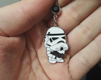 Stormtrooper belly ring
