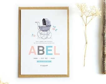 Birth announcements Landau