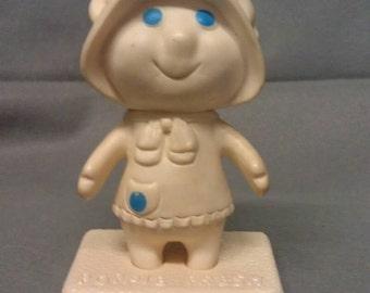 Pillsbury Dough Girl on Poppie Fresh Stand 1972