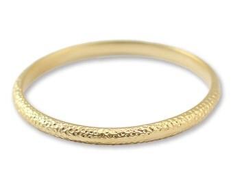 Gold bangle bracelet, Hard bracelet, Hammered bracelet, bangle bracelet, Gold Bangle, Women's Gift for Her,Everyday bracelet