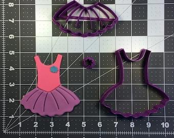 Ballet Leotard 100 Cookie Cutter Set