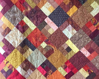 Autumn Double Bed Quilt No 41