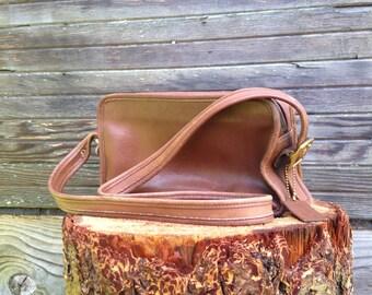 Vintage Coach Sutton Brown Leather Purse