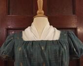 Regency Fichu in Cotton Silk - Ready to Post