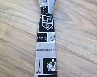LA Kings, Little Guy Ties, Newborn - 2T, Fabric Ties, Velcro Ties, Neckties