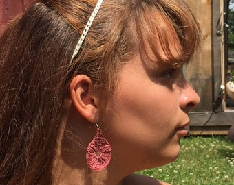Vintage Fan Earrings