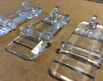 3-Pack Acrylic Plexiglass Hasp Locks