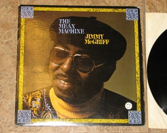"""Jimmy McGriff  """"The Mean Machine""""  LP Record"""
