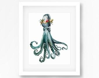 Octopus Print