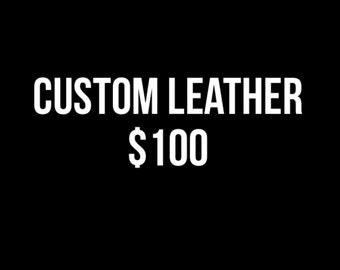 Custom Leather Work